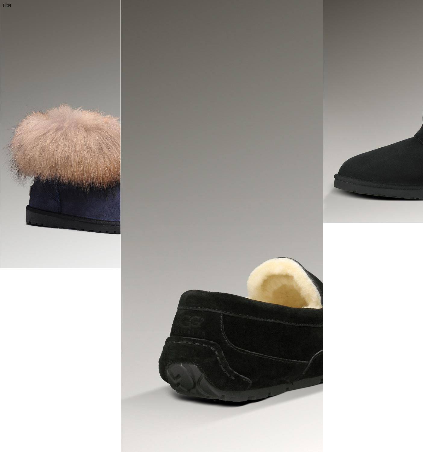 ugg mini bailey button zwart